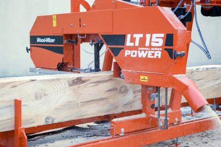 ЛЕНТОЧНАЯ ПИЛОРАМА WOOD-MIZER  LT 15 POWER